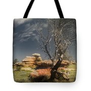 Resting In Peace Tote Bag