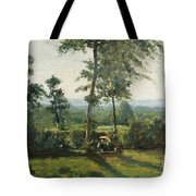 Resting In The Countryside Tote Bag