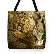Resting Leopard Tote Bag