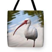 Resting On One Leg Tote Bag