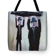 Resting On Your Laurels And Hardy Tote Bag
