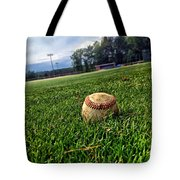 Resting Pitch Tote Bag