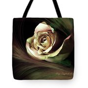 Resting Rose Tote Bag