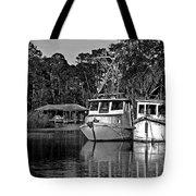 Resting Shrimp Boats Tote Bag