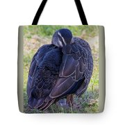 Resting Standing Up Tote Bag