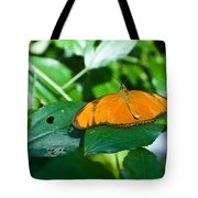 Resting--tropical Butterfly Tote Bag