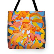 Restless Mind Tote Bag