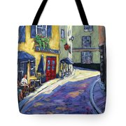 Resto Le Cochon Dingue  In Old Quebec Tote Bag