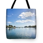 Restronguet Creek In Autumn Tote Bag