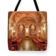 Resurrection Chapel Tote Bag