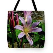Resurrection Flower Tote Bag