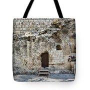 Resurrection - Garden Tomb Tote Bag