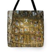 Retable - Toledo Cathedral - Toledo Spain Tote Bag