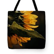 Reticent Sunflower Tote Bag