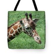 Reticulated Giraffe #3 Tote Bag