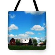 Retired Barn Tote Bag