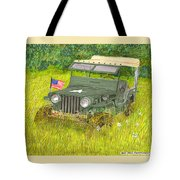 Retired But Still Ready Tote Bag