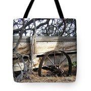 Retired Farm Wagon Tote Bag