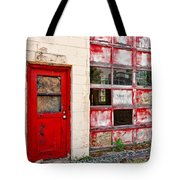 Retired Garage Tote Bag