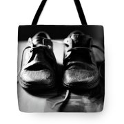 Retired Old Shoes Tote Bag