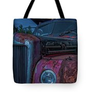 Retired Rusty Mack IIi Tote Bag
