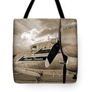Retired - Sepia Tote Bag