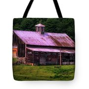 Retired Vermont Farm Tote Bag