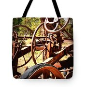 Retired Wheels Tote Bag