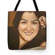 Retrato De Rocio Tote Bag