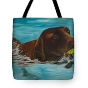 Retriever Play Tote Bag