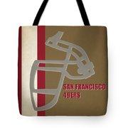 Retro 49ers Art Tote Bag