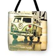 Retro 60s Toy Van Tote Bag