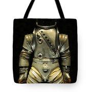 Retro Astronaut Tote Bag