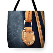 Retro Background Old Suitcase Handle Tote Bag