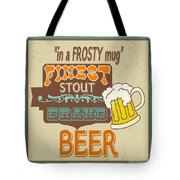 Retro Beer Sign-jp2917 Tote Bag