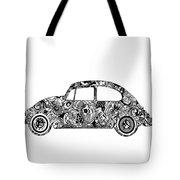 Retro Beetle Car 2 Tote Bag
