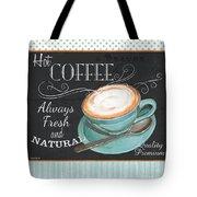 Retro Coffee 1 Tote Bag by Debbie DeWitt