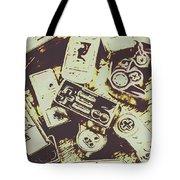 Retro Computer Games Tote Bag