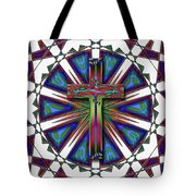 Retro Cross Tote Bag