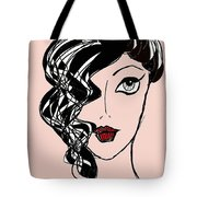 Retro Golden Age Tote Bag