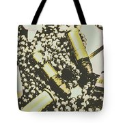 Retro Military Poster Art Tote Bag
