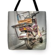 Retro Moped #2 Tote Bag