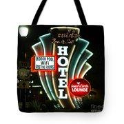 Retro Neon Tote Bag