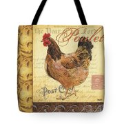 Retro Rooster 1 Tote Bag