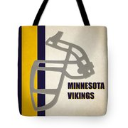 Retro Vikings Art Tote Bag
