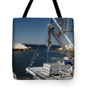 Return Catch Tote Bag