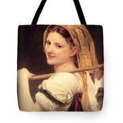 Return From The Market Tote Bag