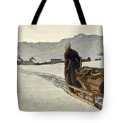 Return From The Wood Tote Bag