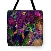 Return Of Paradise Glass Tote Bag by Joseph Mosley