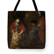 Return Of The Prodigal Son Tote Bag by Rembrandt Harmenszoon van Rijn